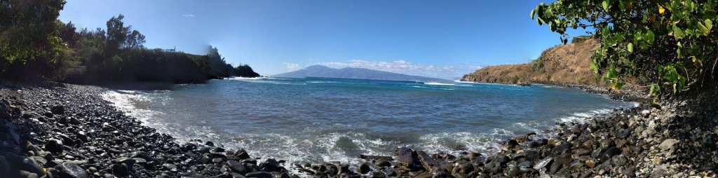 "Panoramic of Honoloa Bay ""Snorkeling"" Spot"