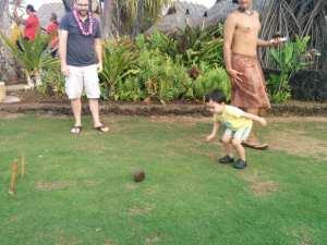 Luau Lawn Bowling