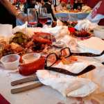V. Sattui lobsterfest glasses