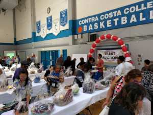 contra costa college food and wine silent auction