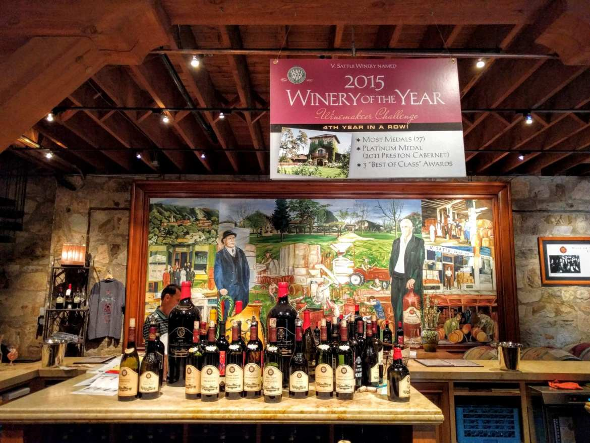 first fridays at VSattui Cellar Tasting Room