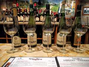 first fridays at vsattui Reisling Tasting Flight B