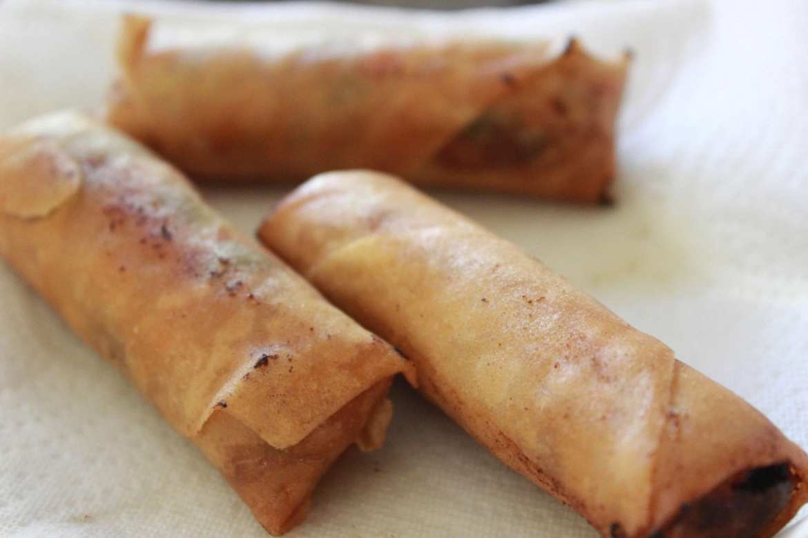 vegetable lumpia