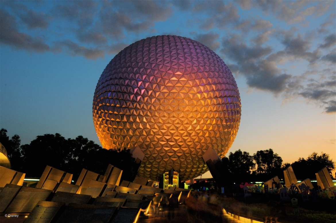 epcot food and wine festival globe night