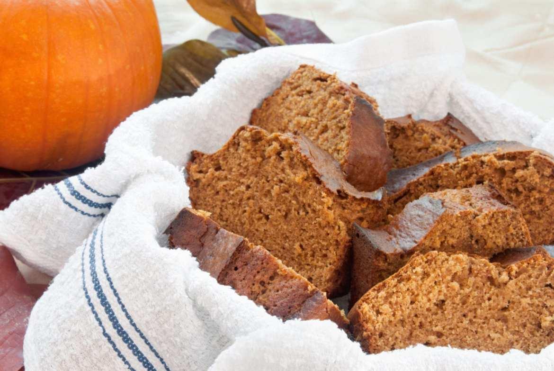 Classic Fall Pumpkin Bread