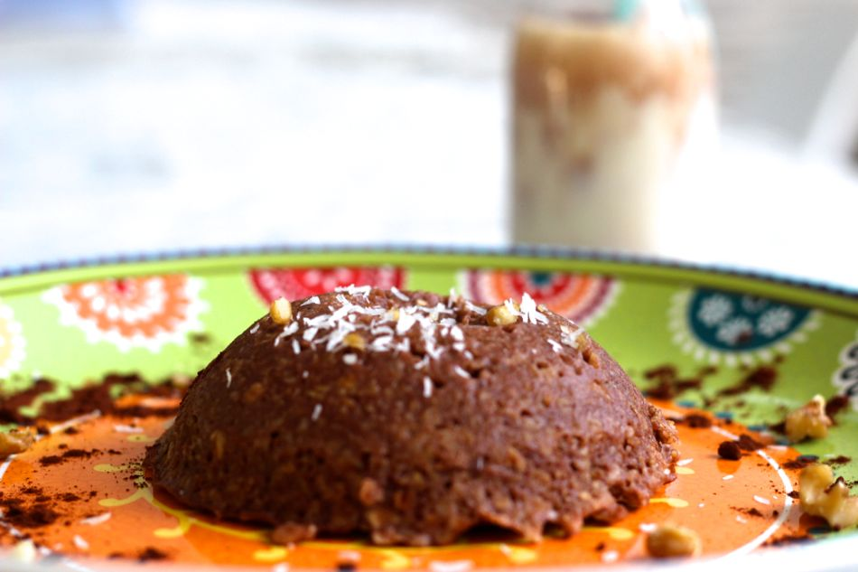 Bowl Cake Au Chocolat Delicieux Fille A Fitness