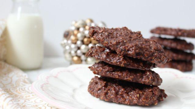 cookies sans cuisson flocons avoine