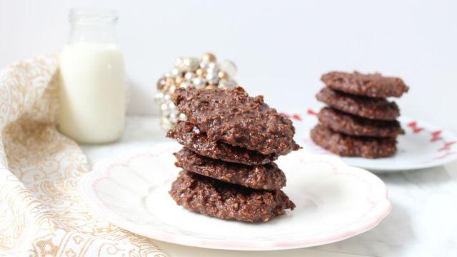 recette cookies facile flocons avoine