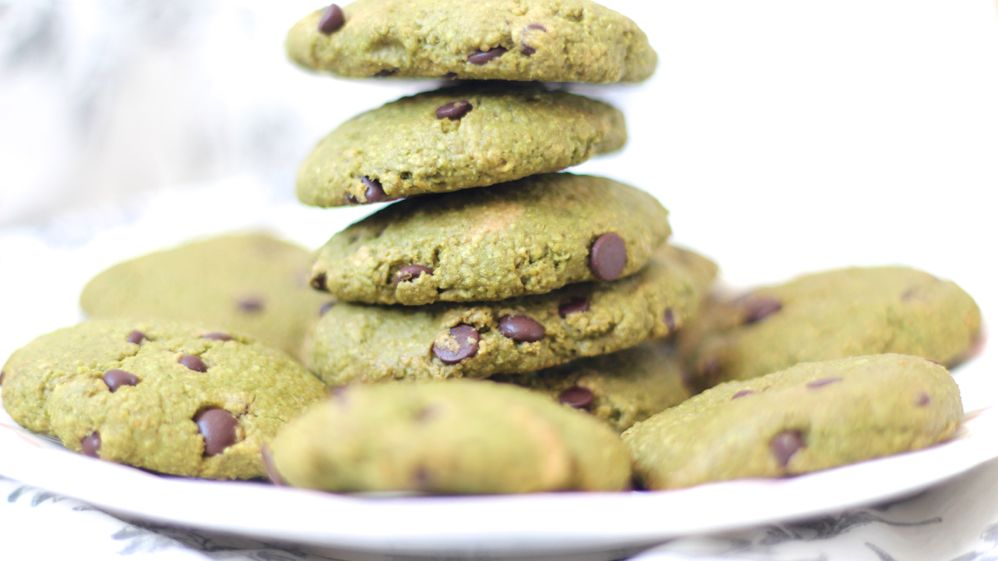 cookies au the matcha