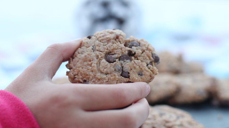 Recette cookies farine d'épeautre et pépites de chocolat