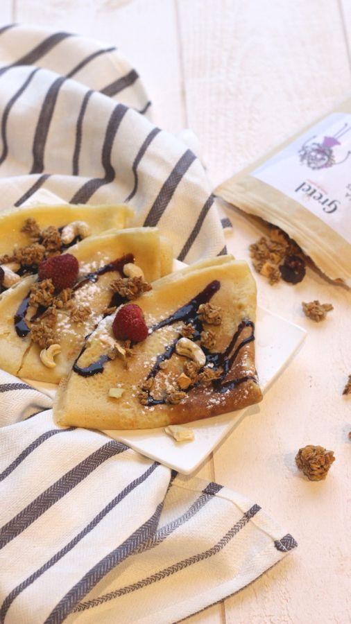 Crêpes paleo, une bonne recette pour le goûter en famille