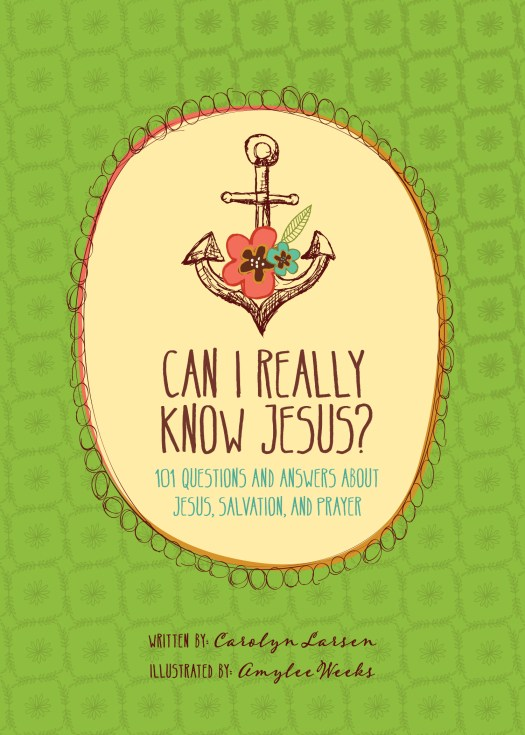 Can I Really Know Jesus? 101 Questions and Answers About Jesus, Salvation, and Prayer Book Cover