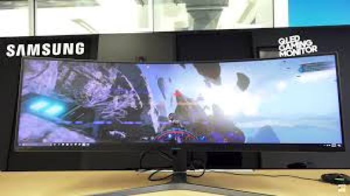 Samsumg Largest QLED gaming monitor