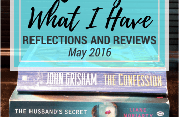 Reading What I Have Challenge - May 2016 | www.fillingthejars.com | Reading the books I already have: Click through to read my reviews and challenge progress for May. How many books did I read? Did I let any books go?