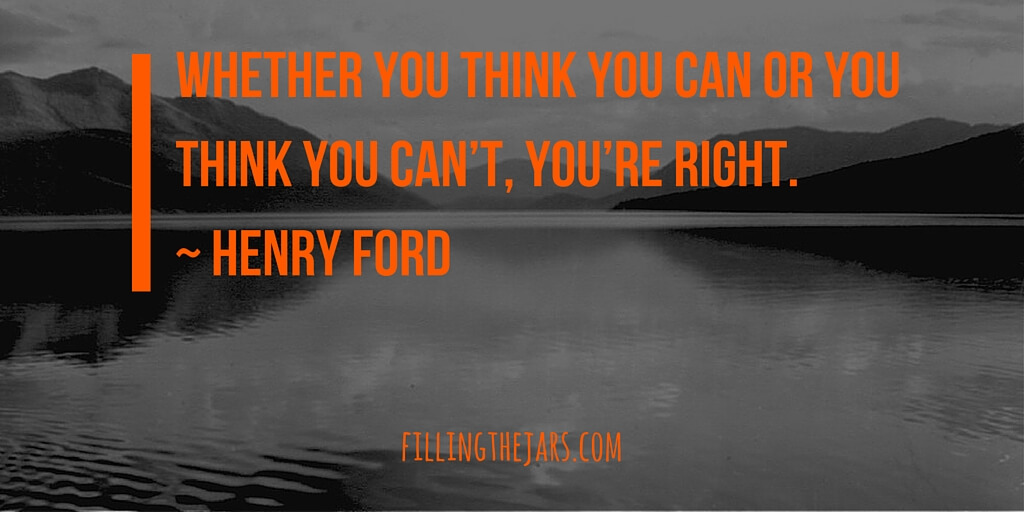 henry ford motivational quote graphic orange on dark background