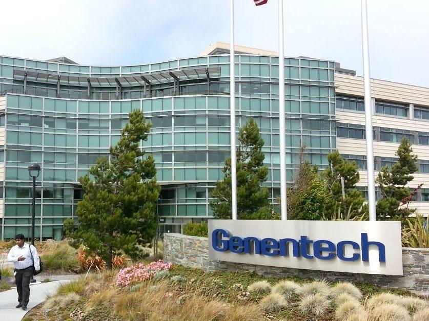 Genentech head office