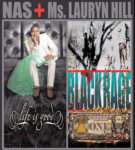 Nas-Lauryn-Hill-at-the-Fillmore Auditorium