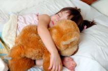 kid sleeping comfortably