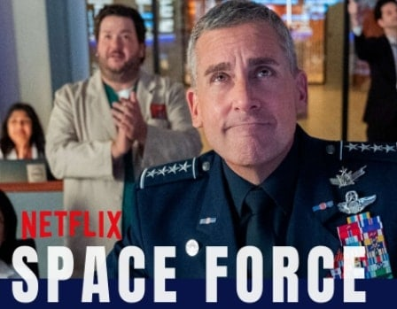Download the Space Force series 480p 720p 1080p