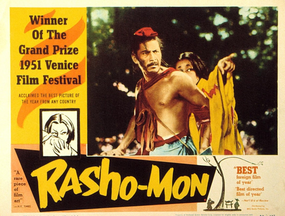 Rashomon (1950) - Akira Kurosawa & the language of Japanese Cinema.