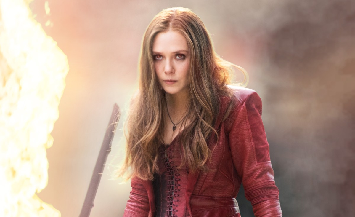 Scarlet Witch actress Elizabeth Olsen seems less than impressed by her Empire Magazine cover.