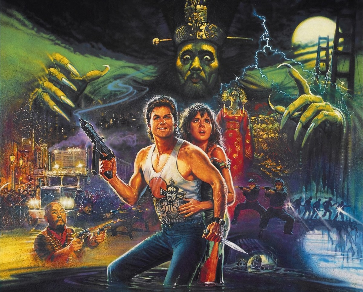 John Carpenter's Big Trouble In Little China (1986).