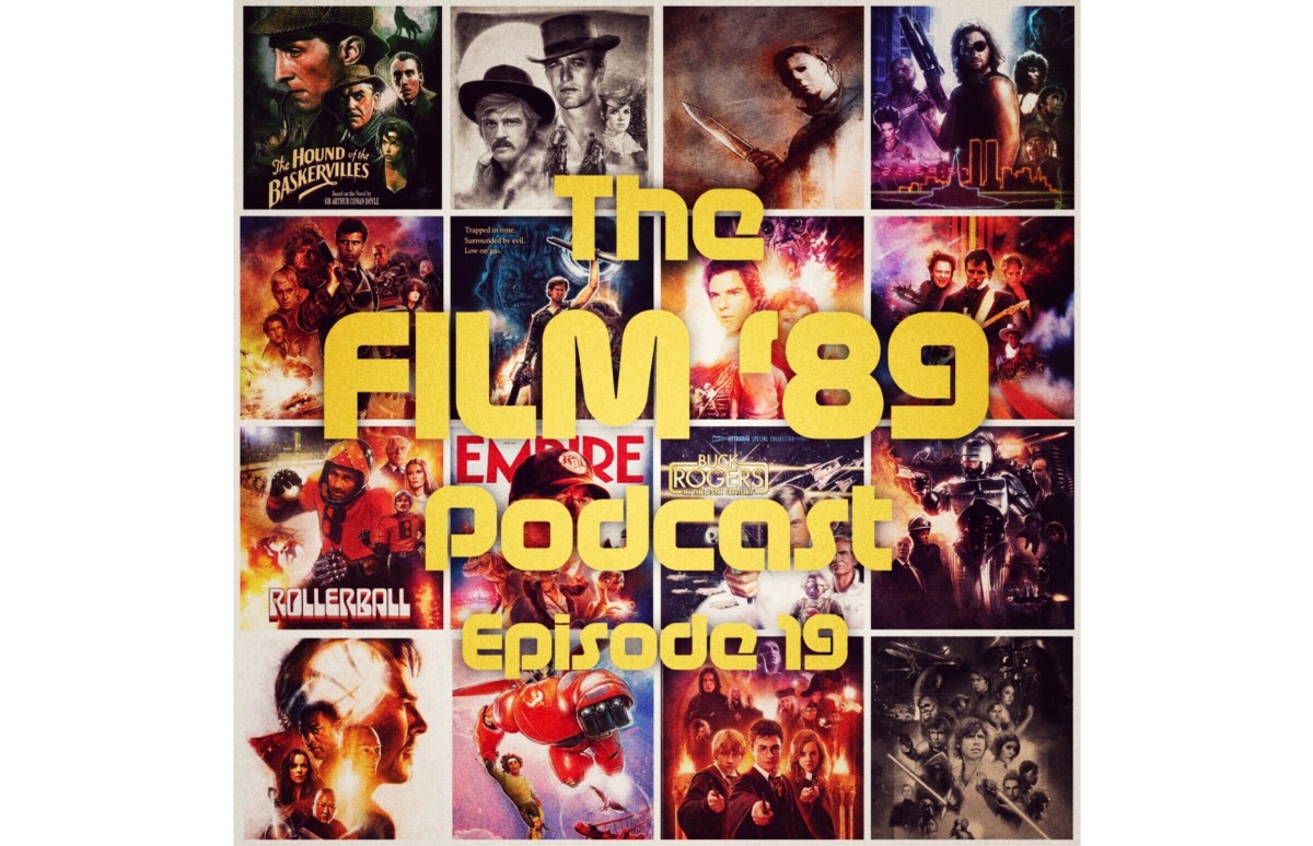 The Film '89 Podcast Episode 19 - 'One-Sheet Wonders' - An Interview with Movie Poster Illustrator Paul Shipper.