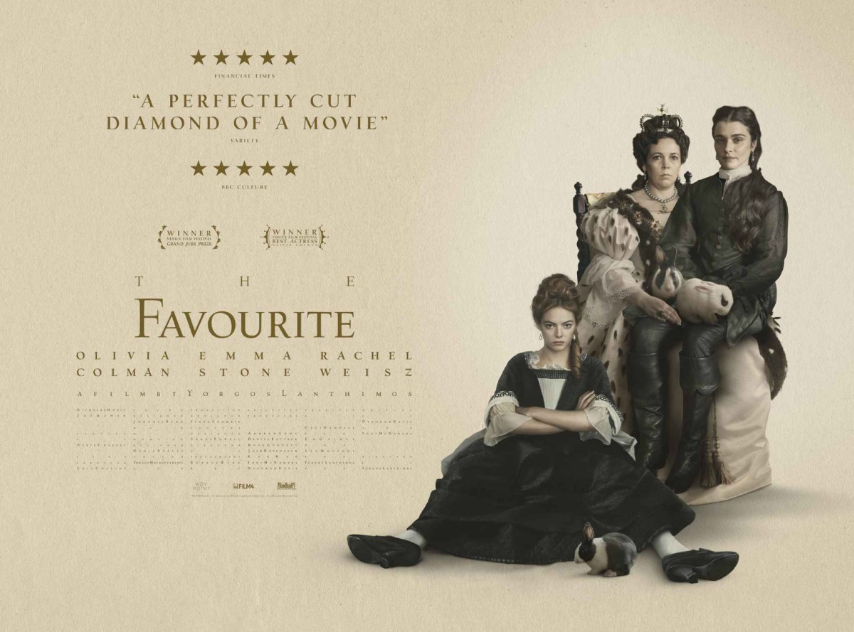 The Favourite (2018).