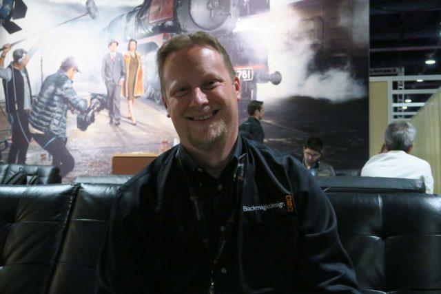 Dan May, President of Blackmagic Design.
