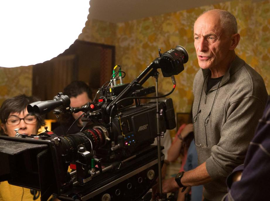 Philippe Rousselot, ASC, AFC on THE NICE GUYS. Photo by Dan McFadden.