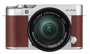 X-A3_Brown_16-50mm_front