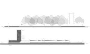 obra mausoleo peron plano vista
