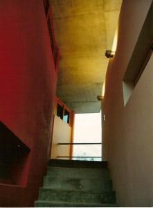 obra edificio russel acceso