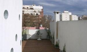 obra edificio russel terraza