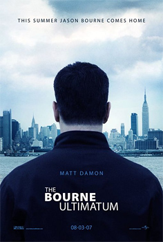 Bourne Ultimatum teaser poster