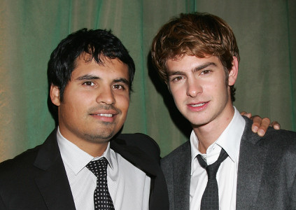 Michael Pena and Andrew Garfield