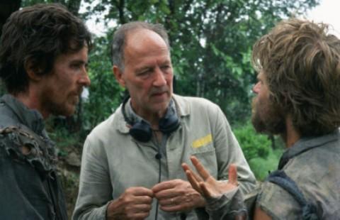Werner Herzog directing Christian Bale and Steve Zahn in Rescue Dawn