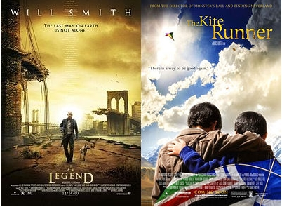 I Am Legend and The Kite Runner