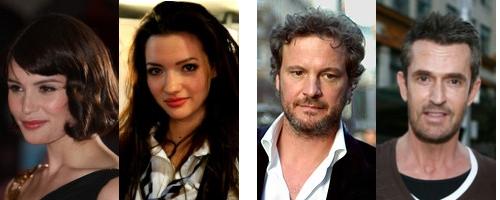 Gemma Arterton & Talulah Riley / Colin Firth & Rupert Everett