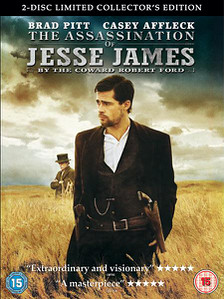 The Assassination of Jesse James R2 DVD Cover