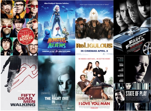 UK Cinema Releases April 2009