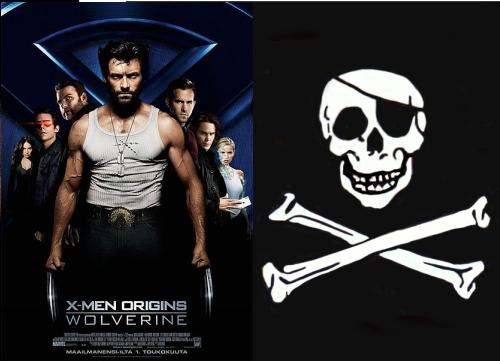 Wolverine Piracy