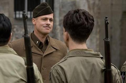 Brad Pitt in Inglorious Basterds