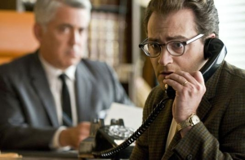 Michael Stuhlbarg and Adam Arkin in A Serious Man  Image courtesy of Universal and Focus Features