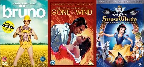 UK DVD Releases 09-11-09