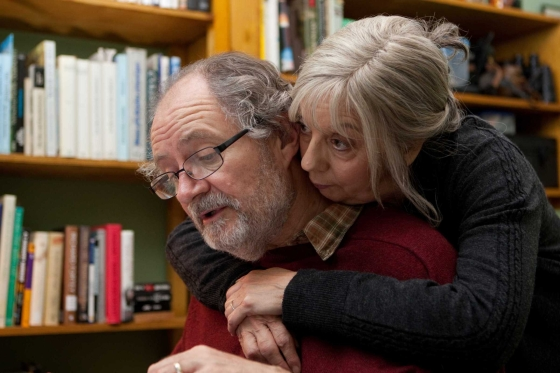 Jim Broadbent as Tom and Ruth Sheen as Gerri in Another Year / Photo by Simon Mein