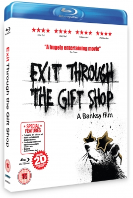 Exit Through the Gift Shop Blu-ray