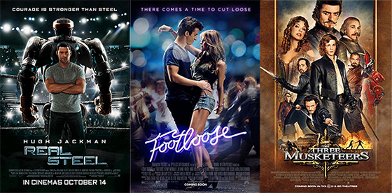 UK Cinema Releases 13-10-11