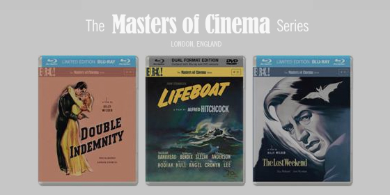 Eureka to release Double Indemnity and The Lost Weekend