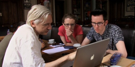 Julian Assange in We Steal Secrets